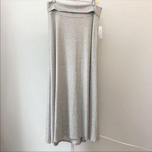NEW WITH TAGS Lularoe LR Large Maxi Skirt